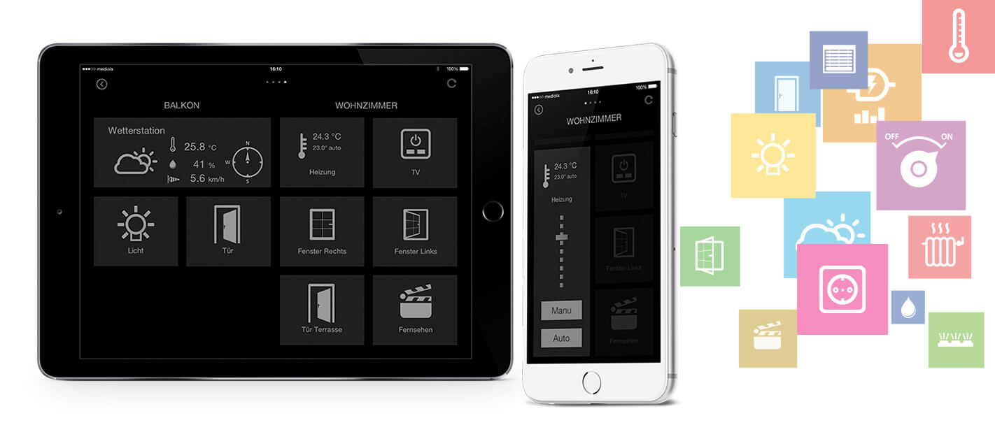 iqontrol mediola iphone ipad smarthome