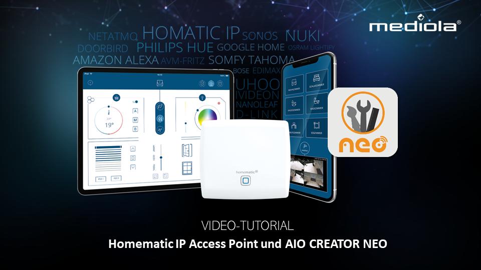 Homematic IP Tutorial mit AIO Creator NEO