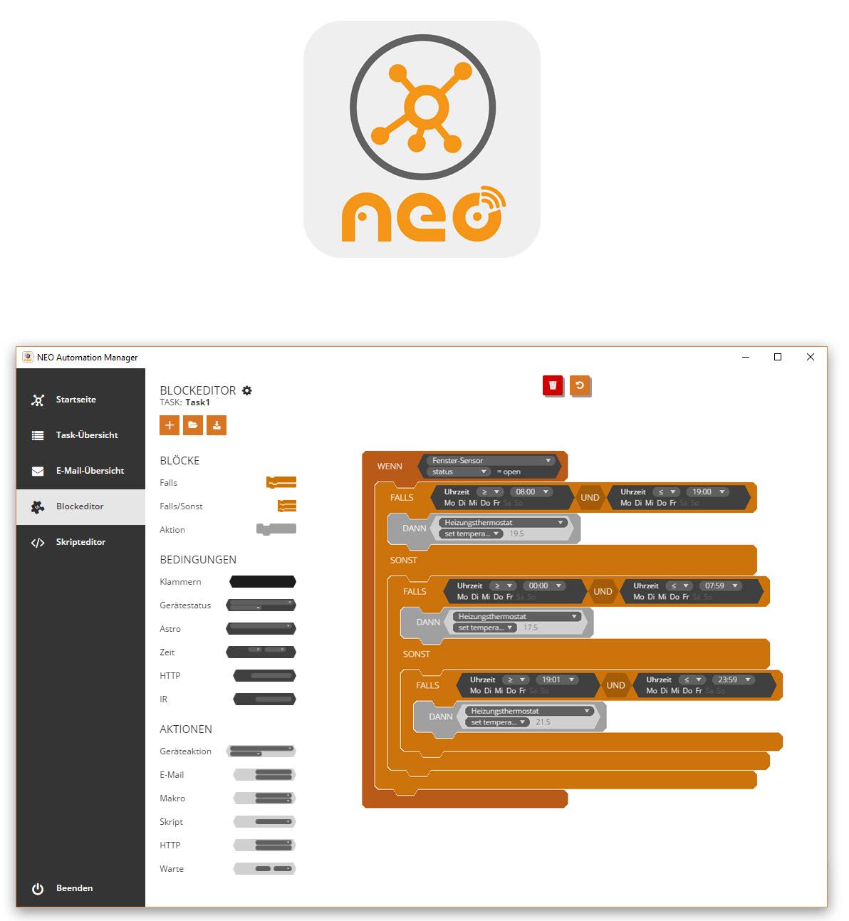 Neo Automation Manager NEO Logo klein