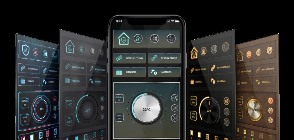 AIO CREATOR NEO smart home app Design