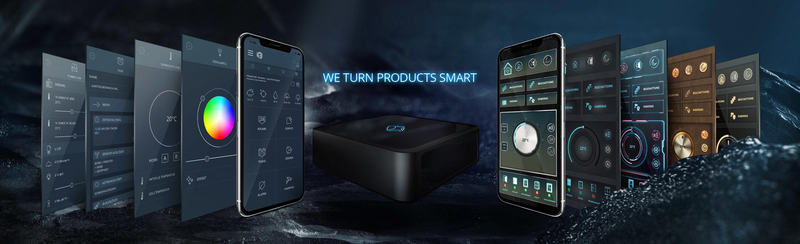 Wir machen Produkte Smart - mediola - AIO Gateway mit IQNOTROL NEO / IPQONTROL NEO & AIO CREATOR NEO / AIO REMOTE NEO
