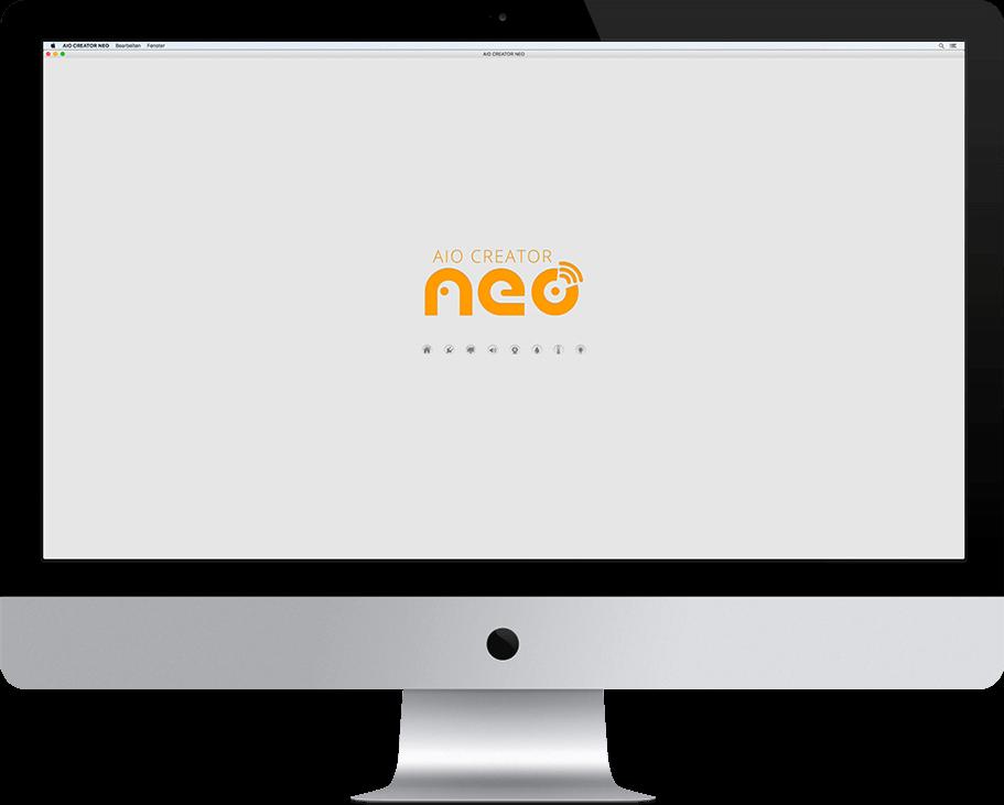 aio creator neo app designer Ablauf - Testmodus und Download