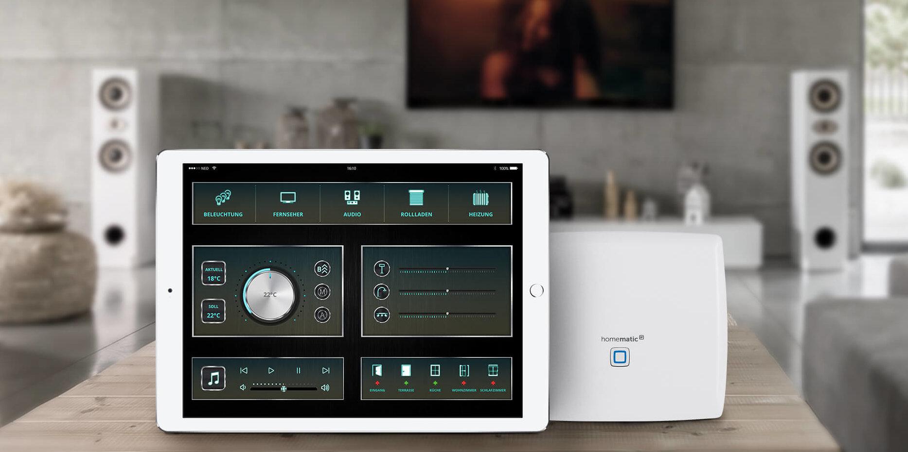 mediola cc3 smart home