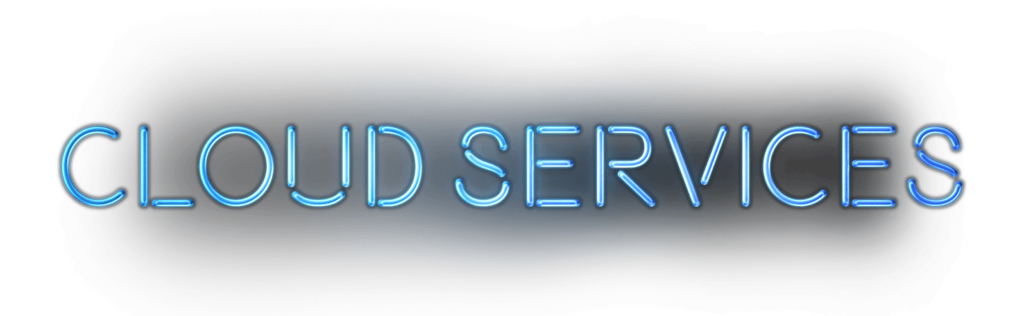 cloud services font
