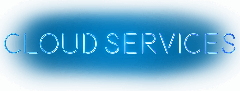 cloud services schrift