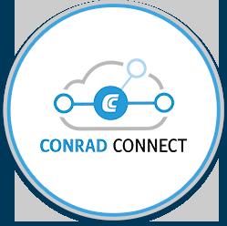 conrad connect button