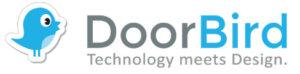 doorbird logo - works with mediola
