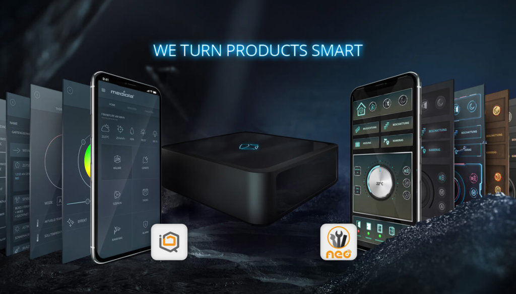 we turn products smart - mediola connected living - smart home solutions