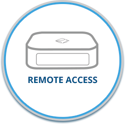 remote access button