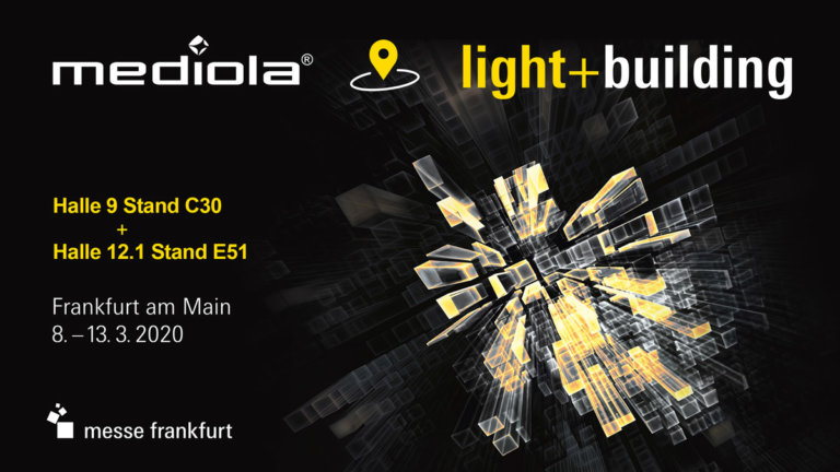 mediola® stellt auf der Light + Building 2020 neues Gateway als Weltneuheit vor
