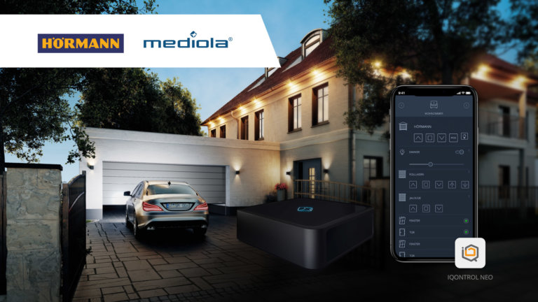 mediola und Hörmann forcieren gemeinsam das vollvernetzte Smart Home