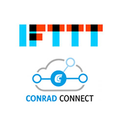 IFTTT und Conrad-Connect icons