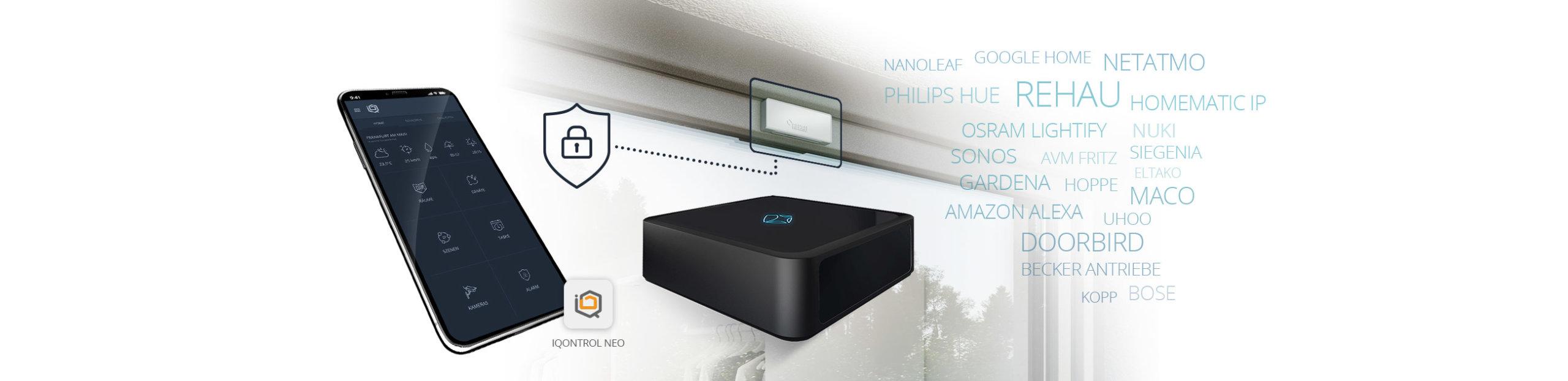Rehau Smart Guard - Works with mediola mit Iqontrol Neo & AIO Gateway