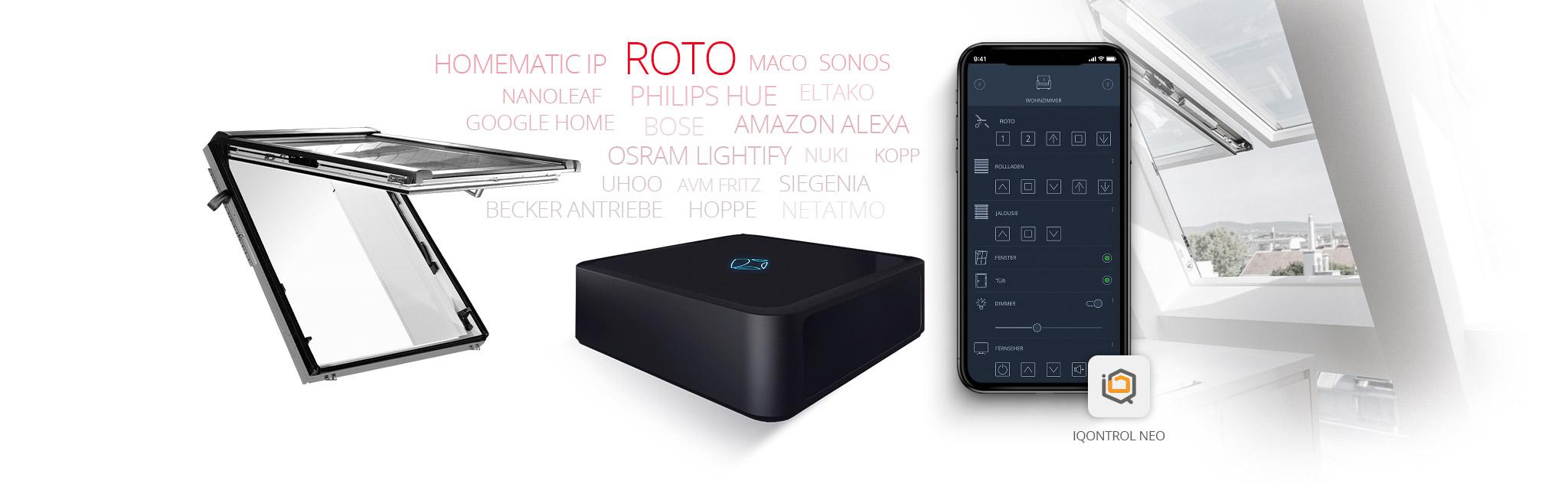 Mediola verbindet Roto DST mit vielen weiteren Marken/ Geräten