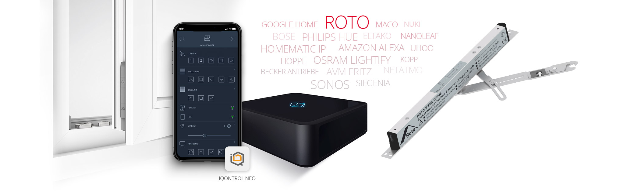 Mediola verbindet Roto FTT mit vielen weiteren Marken/ Geräten