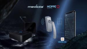 Hoppe - Der gute Griff kooperiert mit mediola - smart home app