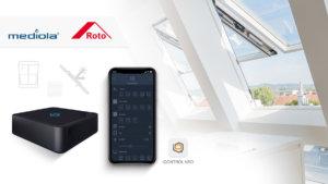 Roto Dachfenster sind jetzt in AIO Gateway und Iqontrol neo integriert