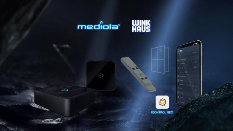 Mediola® und Winkhaus kooperieren bei smarter Überwachung von Fenstern und Fenstertüren