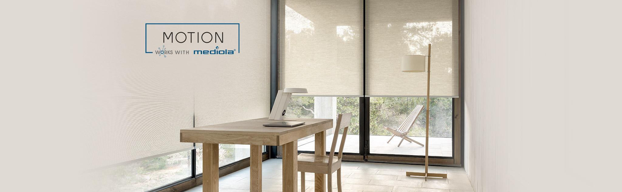 Mediola vernetzt MOTION von COULISSE mit deinem Smart Home