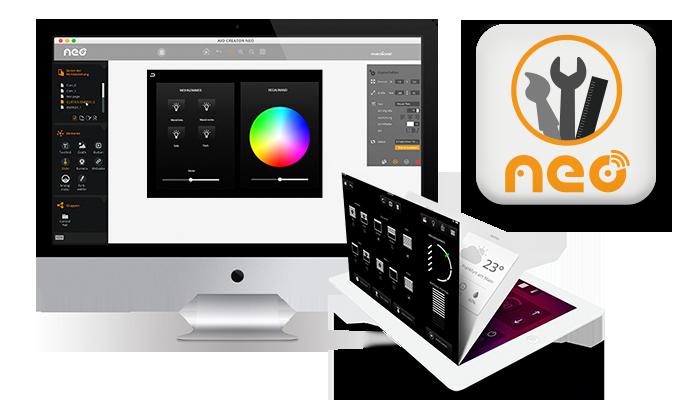 NEO auf iMac und iPad