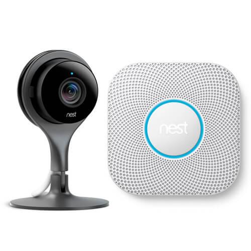 Nest Cam und Nest Protect in AIO CREATOR NEO