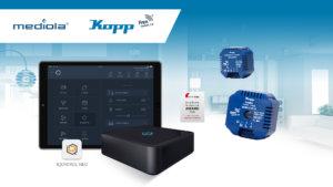 Pressmitteilung - Kooperation zwischen Kopp und mediola - Smart Home