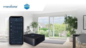 Mediola integriert den neuen Fenstersensor eTronic von MACO und vernetzt ihn mit der smarten Produktpalette von HAUTAU