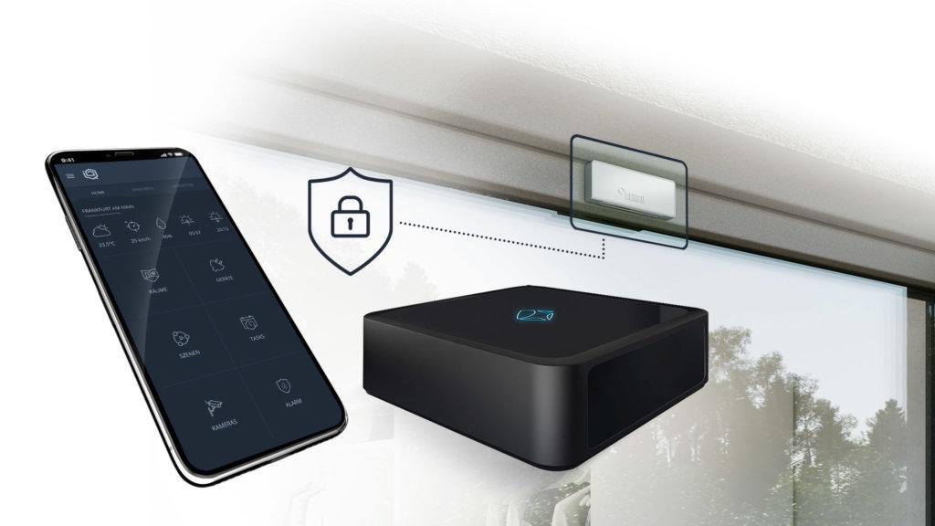 Rehau Smart Guard mit mediola Smart Home App Iqontrol Neo und AiO Gateway