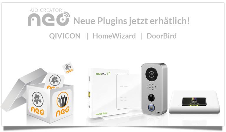 release plugins box doorbird homewizzard qivicon