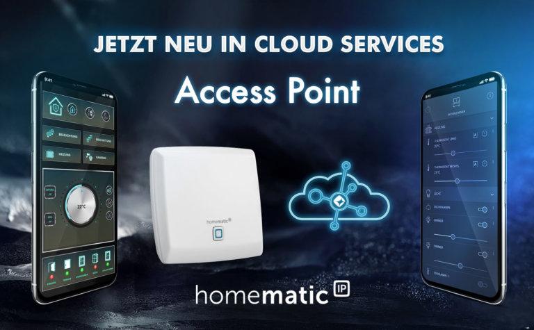 mediola unterstützt ab sofort auch Homematic IP Cloud & Access Point