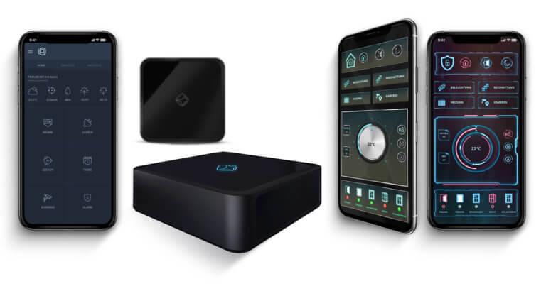 iot smart home lösungen - mediola aio gateway & steuerungs apps iqontrol neo und aio creator neo remote