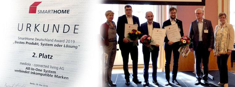 smarthome award deutschland 2019 mediola