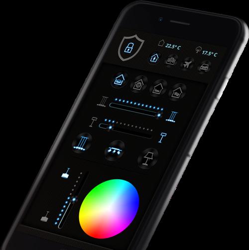 smarthome aio creator neo licht app design mediola neotronic