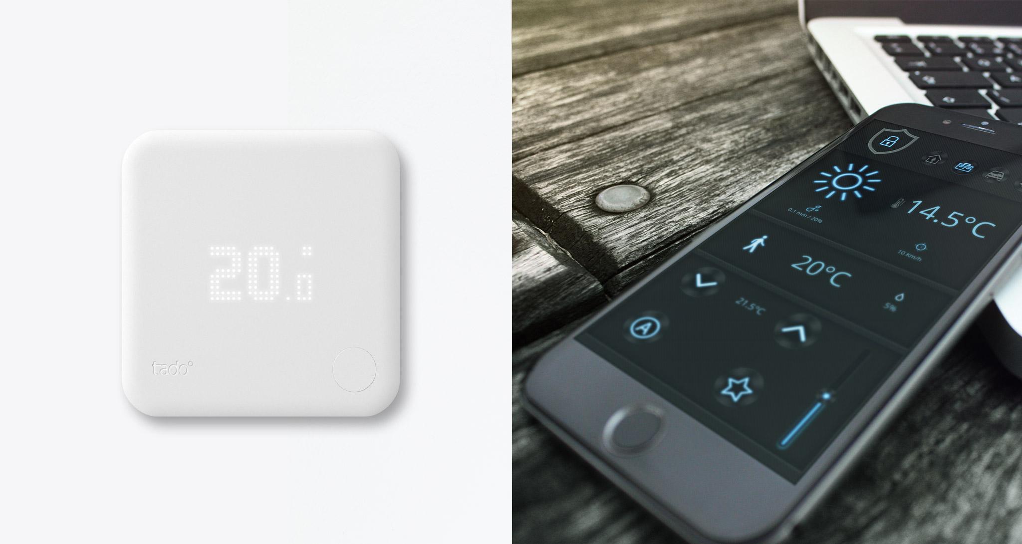 mediola integriert jetzt auch das smarte thermostat von. Black Bedroom Furniture Sets. Home Design Ideas