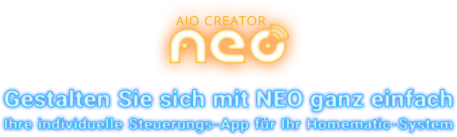 aio creator neo für Homematic Elements