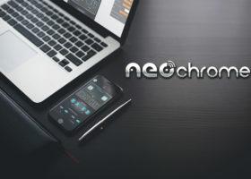 workspace neochrome mobile laptop shop
